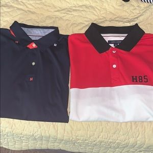 2 for $40 or 1 for $20 each tommy hilfiger polos
